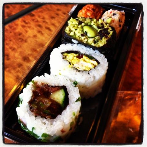 #200 - M&S fusion sushi