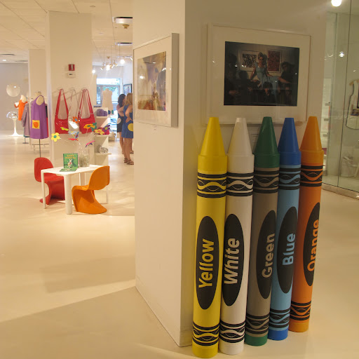 I love the large crayons piggy banks, I think everyone had one of these growing up. We recently used a few for a shoot.