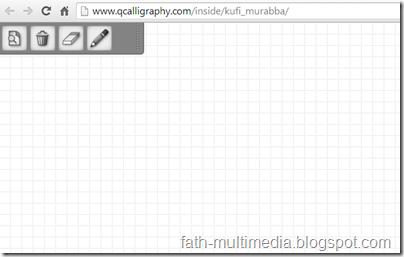 Kufi Murobba Vektor Aplikasi