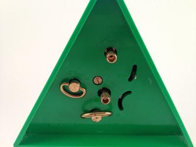 Endura alarm clock, green