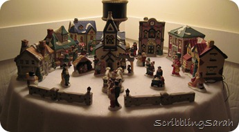table top village