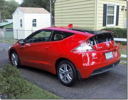My CR-Z in driveway.jpg