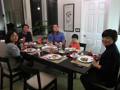cooking Dutch food for Korean friends