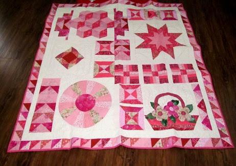 1411204 Nov 25 Jessicas Pink Candy Quilt