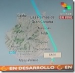 Voo presidencial seguido em directo pela América Latina. Jul.2013