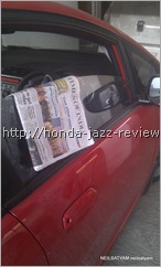 Honda Jazz gates doors