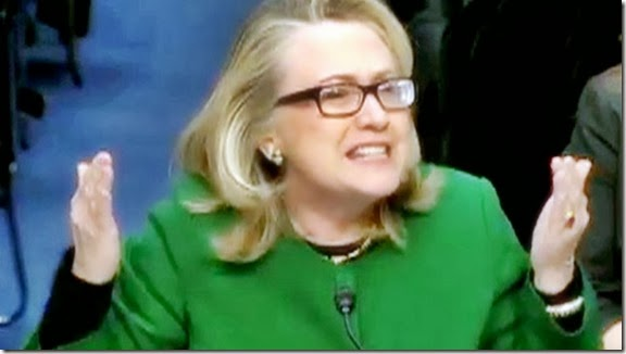 Hillary on Benghazi - 'What difference does it make'