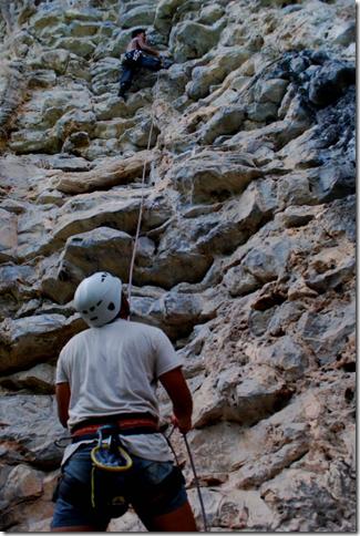 Climbing at Ko Phi Phi