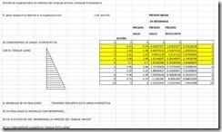 cálculo estructural de un tanque Imhoff (Memoria descriptiva del cálculo estructural)