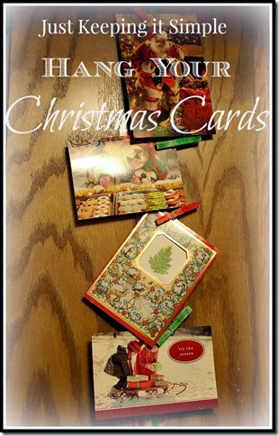 Hang Christmas Cards @ TTG
