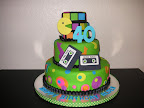 80&#39;s Cake
