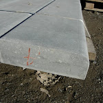 6 - Flat sill with a rounded edge