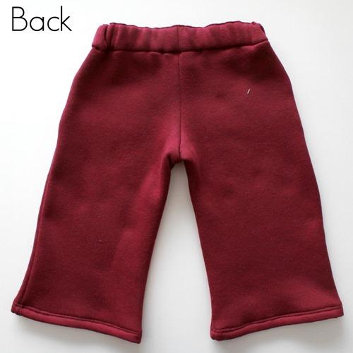 maroon pants back
