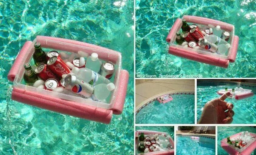 comment faire un plateau flottant pour piscine id es