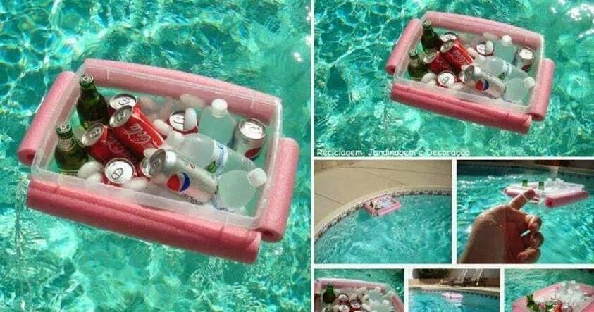 id es fait main comment faire un plateau flottant pour piscine. Black Bedroom Furniture Sets. Home Design Ideas