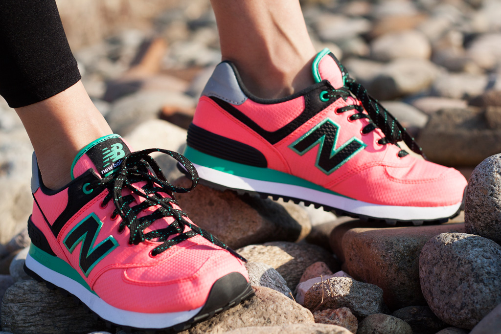 zapatillas casual de mujer wl574 lifestyle new balance