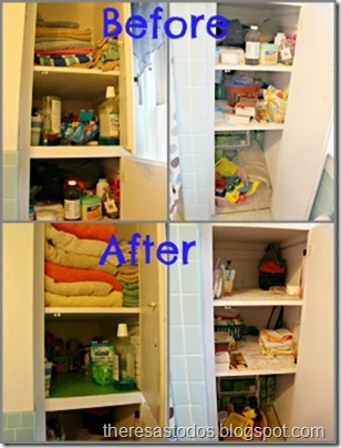 Decluttering The Bathroom Closet