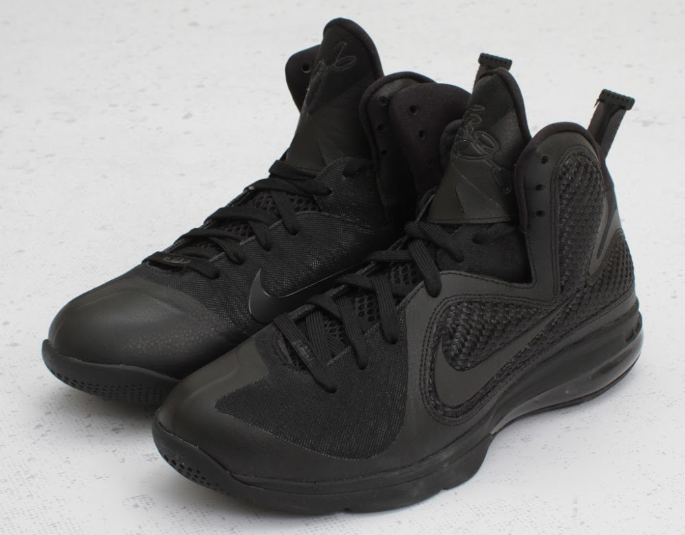 black lebron 9