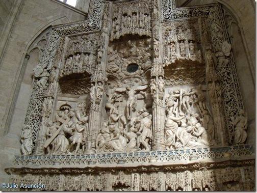 Retablo de alabastro - Catedral de Huesca
