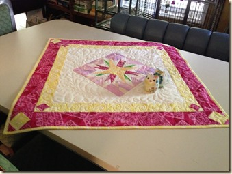 CD table topper completed