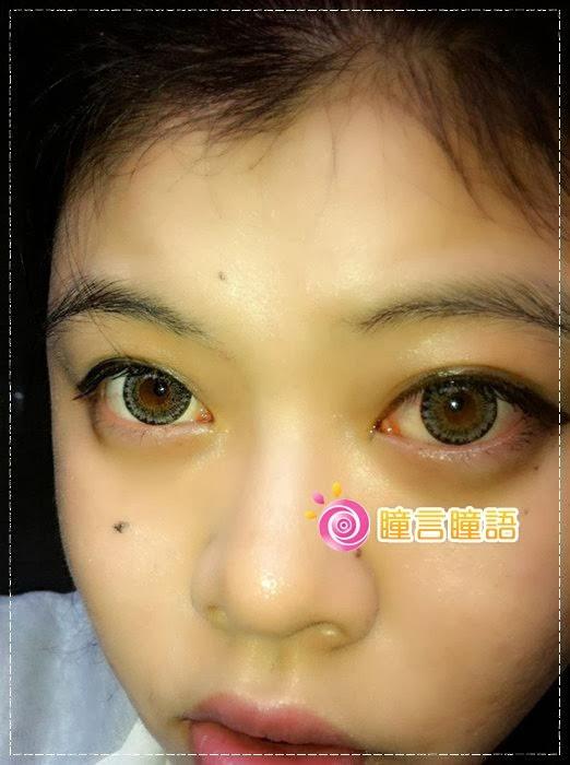韓國GEO隱形眼鏡-GEO Berry Holic 混血三色灰21