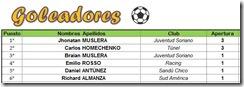 Goleadores 1-2012