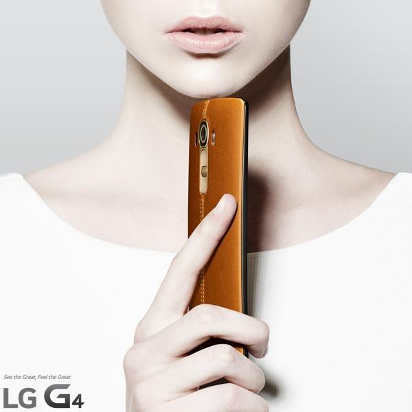 LG G4 Leather Back