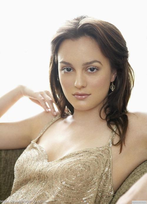 Leighton meester blair gossip girl garota do blog linda sensual desbaratinando  (262)