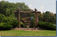 4651 Wisconsin - I-39 (I-90) - Wisconsin Welcome sign