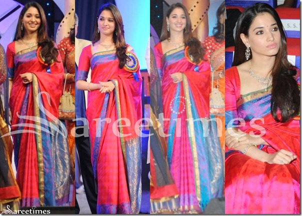 Tmanna_Pink_Silk_Saree