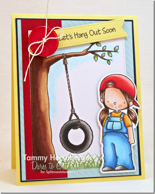 Let's Hang Out by Tammy Hershberger for Dare to Get Dirty