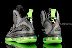 nike lebron 9 gr black green dunkman 3 12 Another Look at Nike LeBron Dunkman   Different Version