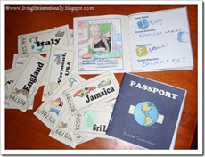 Free Printable: Pretentd Passport &amp; Tickets from www.livinglifeintentionally.blogspot.com