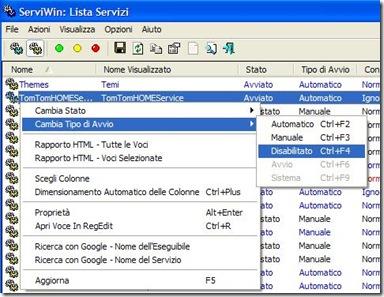 ServiWin gestione driver e servizi di Windows