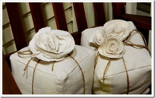 Present Pillows Twine on porch (550x413) (2)