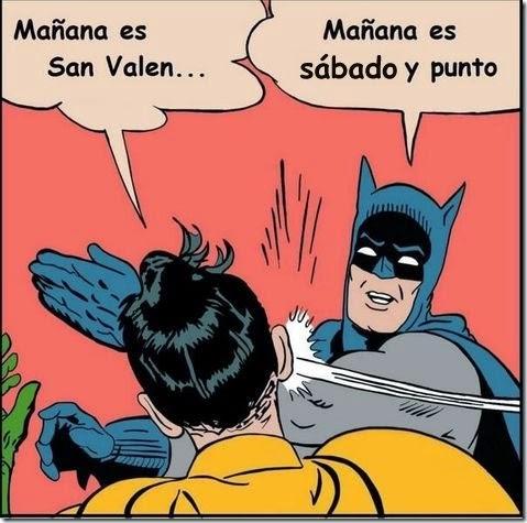 robin y batman san valentin 1