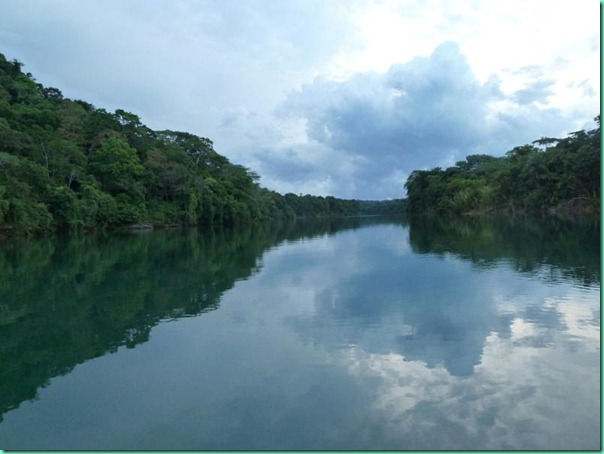 chagres view downstream