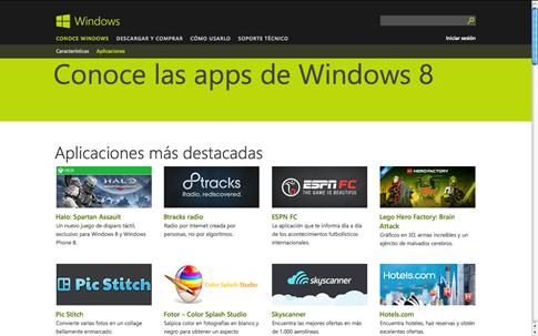 Buscar apps en Microsoft Store