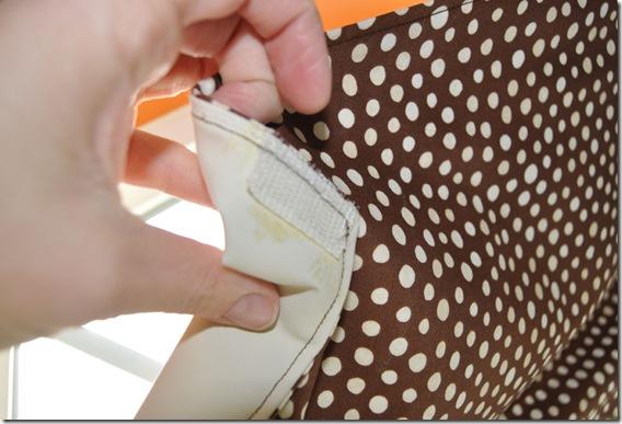 Velcro-on-fabric