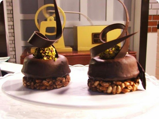 Savarin brownies