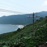 Den flotte togtur fra Hoi An til Hue (3 timer) langs kysten, frodige grønne bjerge og stejle skrænter mod havet.