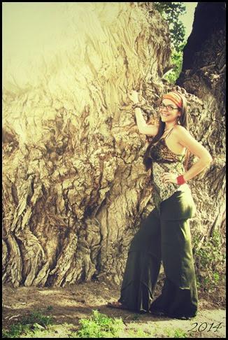 tree hugger zoe