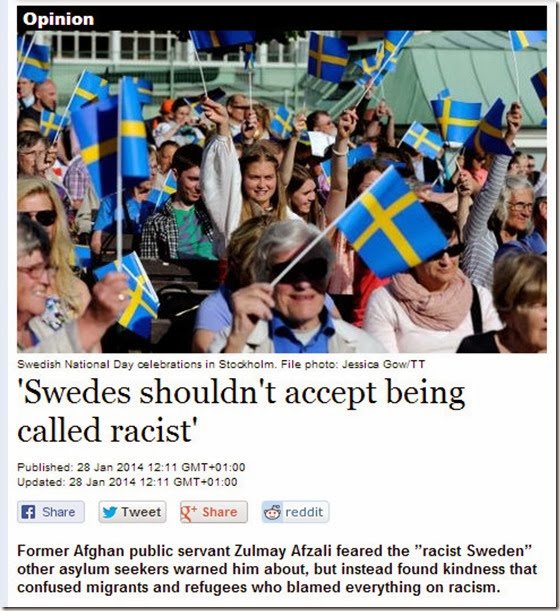 swe not racist