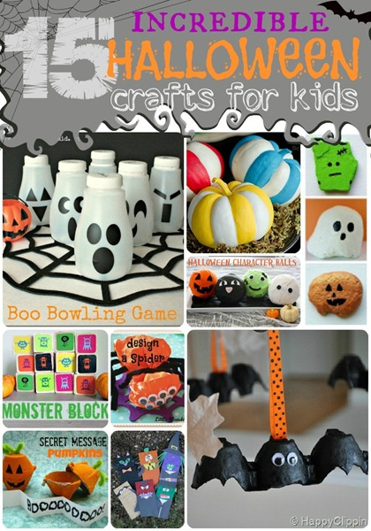 15 Incredible Halloween Crafts for Kids ucreatewithkids.com