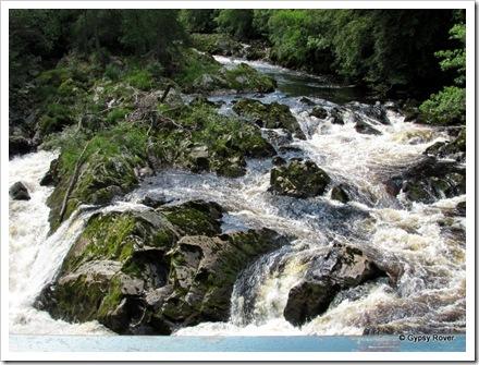 River Feugh at the Falls of Feugh.