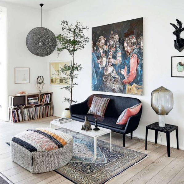 Rh Interiorismo Apartamento En Copenhague