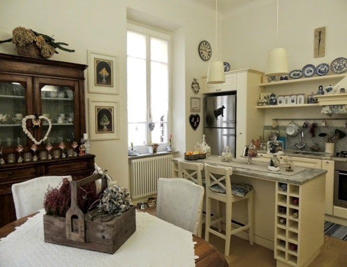 shabby and charme il mio natale in cucina christmas in my kitchen. Black Bedroom Furniture Sets. Home Design Ideas