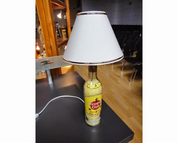 havana club designer lampe cuba libre neu flasche party