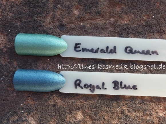Catrice Rocking Royals Swatches 5