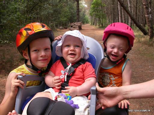 Nasza mała lisia ekipa rowerowa